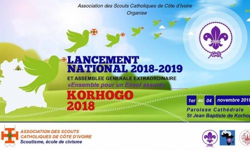 Lancement National 2018-2019 des activités de l'ASCCI couplé à une AGE