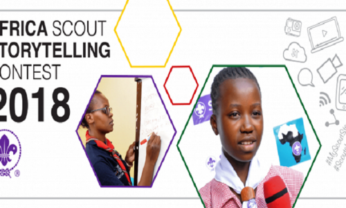 La Region Afrique lance le concours d'histoires Scoutes d'Afrique