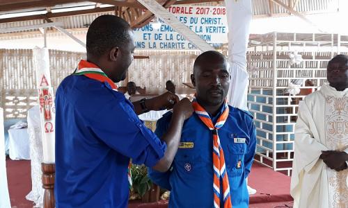 Investiture du nouveau Commissaire Régional d'Abengourou