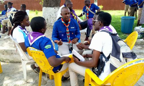 Pèlerinage Scout de la Région d'Abidjan