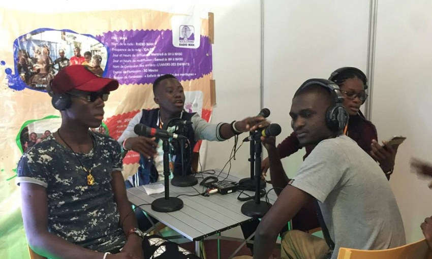 ICASA 2017: Nos jeunes reporters sur le terrain