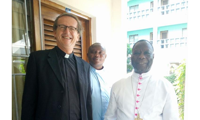 Visite de l'Aumônier Mondial du Scoutisme Catholique