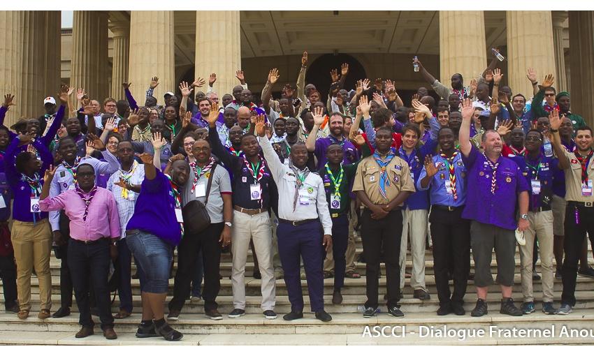 Francophonie du Scoutisme en Côte d'Ivoire ; Extinction des projecteurs : Challenge réussi pour l'ASCCI !