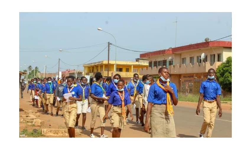 Les Scouts Catholiques contre le Paludisme en Côte d'Ivoire