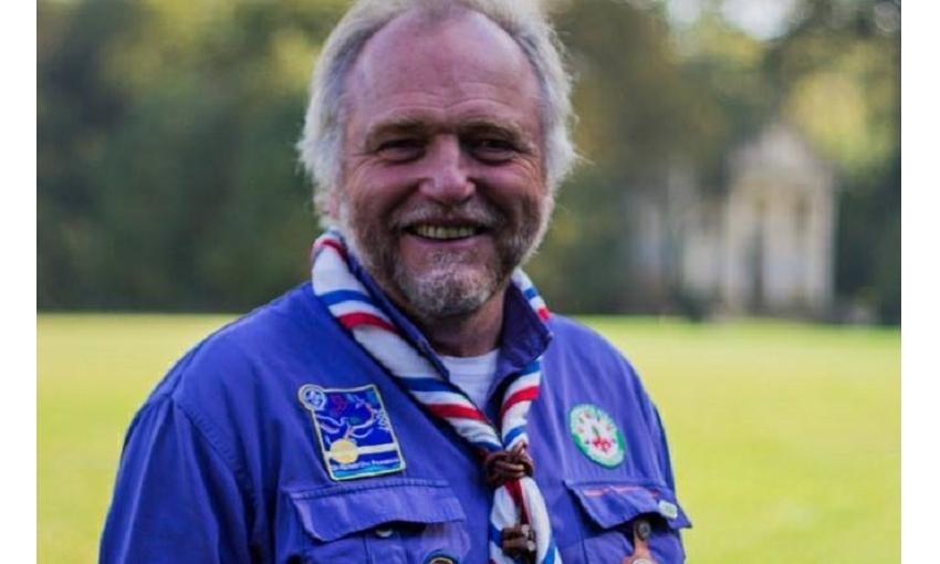 Christian Larcher, délégué général adjoint des SGDF est promu au grade de chevalier de la Légion d'Honneur.