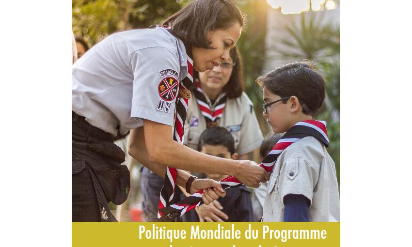 Politique Mondiale du Programme des Jeunes dans le Scoutisme.