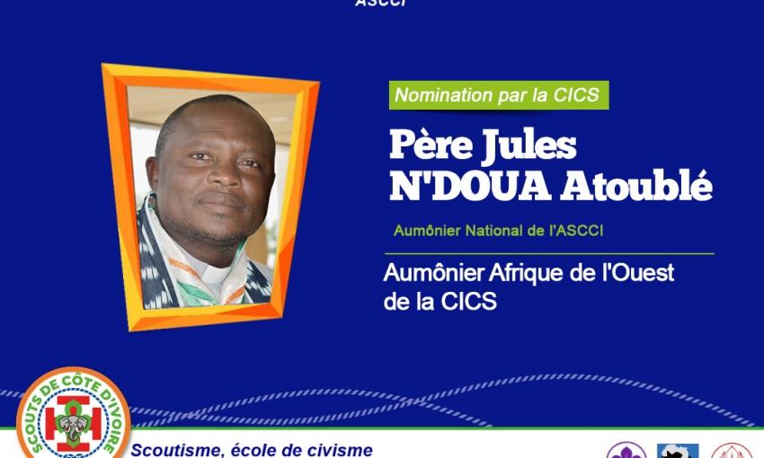 L'Aumônier National de l'ASCCI nommé au plan Africain !