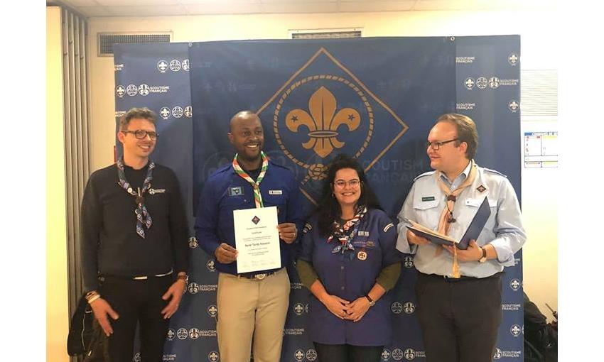 Le Commissaire National de l'ASCCI honoré !
