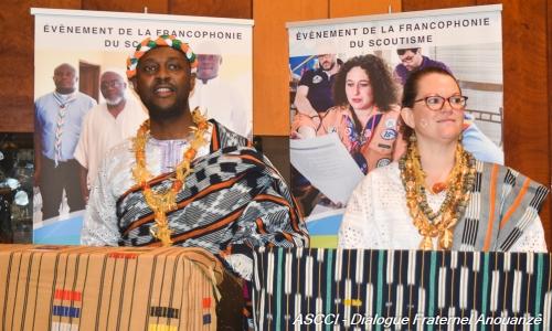 Francophonie du Scoutisme : Le Dialogue Fraternel Anouanzê ouvre ses portes.