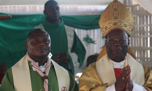 Messe d'action de grâces de l'Aumônier National de l'ASCCI