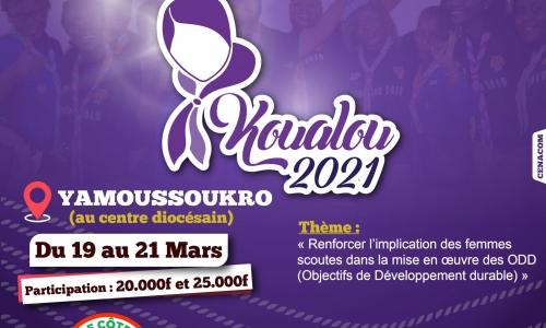 L'ASCCI organise du 19 au 21 mars 2021 la 2è édition du KOUALOU